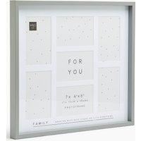 7 Aperture Family Photo Frame 4 x 6 inch (10 x 15cm)