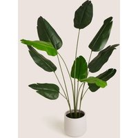 M&S Artificial Floor Standing Banana Leaf Plant - 1SIZE - Green, Green