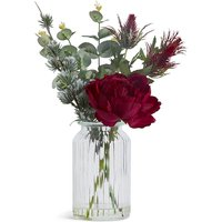 Large Peony & Thistle Arrangement