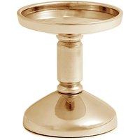 Silver Ava Pillar Candle Holder