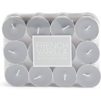 Set of 24 French Vanilla Tea Lights