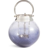 Medium Cut Glass Ombre Lantern