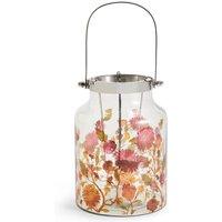 Medium Floral Lantern