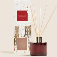 M&S Mandarin, Clove & Cinnamon 100ml Diffuser - 1SIZE - Red Mix, Red Mix