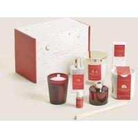 M&S Mandarin, Clove & Cinnamon Gift Set - 1SIZE - Red Mix, Red Mix
