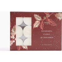 24 Pack Mandarin, Clove & Cinnamon Tea Lights