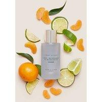 M&S Library Of Scent Lime Bergamot & Mandarin Room & Linen Spray - White Mix, White Mix