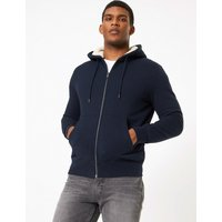 M&S Collection Fleece Lined Hoodie