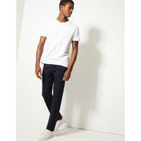 M&S Collection Slim Fit Cotton Rich Joggers