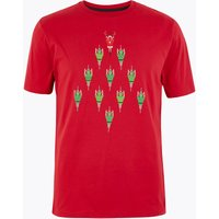 M&S Collection Pure Cotton Santa Bike T-Shirt