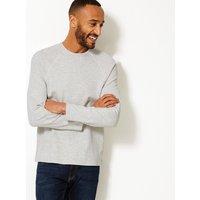 M&S Collection Active Cotton Rich Sweatshirt