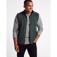 M&S Collection Zipped Through Fleece Gilet