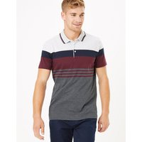 Limited Edition Cotton Striped Polo Shirt