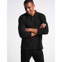 M&S Collection Pure Cotton Polo Shirt