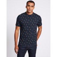 Limited Edition Slim Fit Pure Cotton Crew Neck T-Shirt