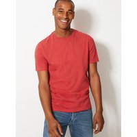 MandS Collection Slim Fit Pure Cotton Crew Neck T-Shirt