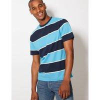 M&S Collection Pure Cotton Crew Neck T-Shirt