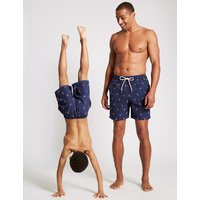 M&S Collection Father and Son Matching Swim Shorts