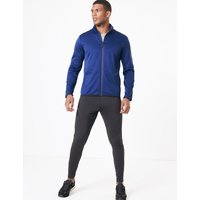 M&S Collection Active Fleece Funnel Neck Jacket