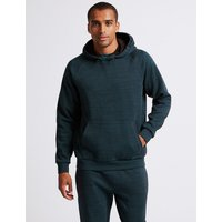 M&S Collection Active Cotton Rich Hooded Top