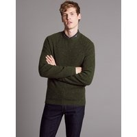 Autograph Merino Slim Fit Nep Jumper with Cashmere