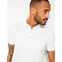 M&S Collection Cotton Rich Knitted Polo