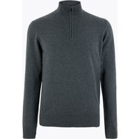 M&S Collection Pure Cashmere Half Zip Funnel Neck Jumper