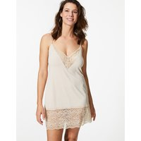 M&s Collection Louisa Lace Trim Full Slip