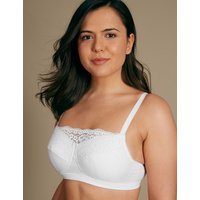MandS Collection Vintage Lace Post Surgery Padded Full Cup Bra A-DD