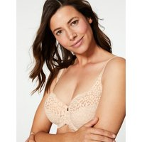 MandS Collection Vintage Lace Non-Padded Full Cup Bra DD-H