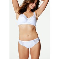 M&S Collection Cool Comfort Cotton Rich Non-Wired Full Cup Bra A-DD