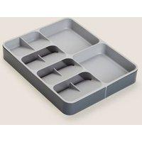M&S Joseph Joseph Expanding Cutlery Organiser - 1SIZE - Grey, Grey