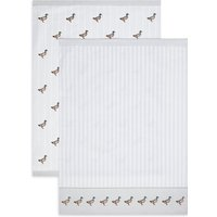 Set of 2 Core Print Mallard Tea Towels