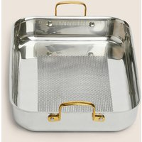 M&S chef Chef Tri Ply Textured Roaster