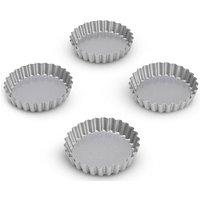4 Non-Stick Mini Tartlet Tins