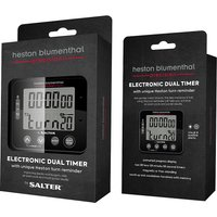 Salter Heston Blumenthal Precision Electronic Dual Kitchen Timer