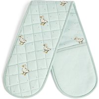 Duck Print Double Oven Mitt