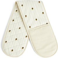 Bee Print Double Oven Mitt