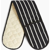 Butchers Stripe Double Oven Mitt
