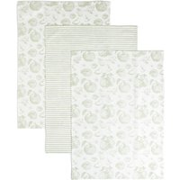 Set of 3 Apple Kitchen Print Tea Towels