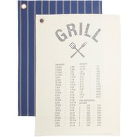 Grill Set of 2 Tea Towels
