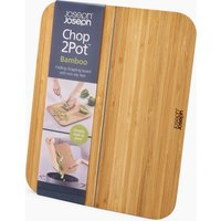 Joseph Joseph Bamboo Chop2Pot Small Chopping Board