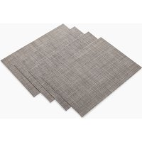 4 Pack Metallic Placemats