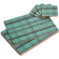 Tartan Placemat & Coaster Set