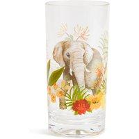 Sun-baked Elephant Acrylic Hi Ball Glass