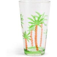 Palm Tree Acrylic Hi Ball Glass
