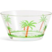 Palm Tree Acrylic Small Bowl