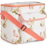 Flamingo Print Cool Bag