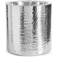 Hammered Metal Ice Bucket