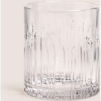 Hollywood Pressed Glass Tumbler